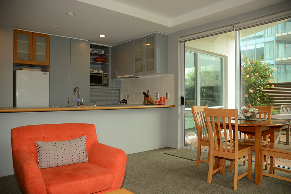 One Bedroom Courtyard Apartment